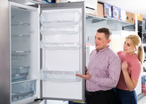 buying a new fridge