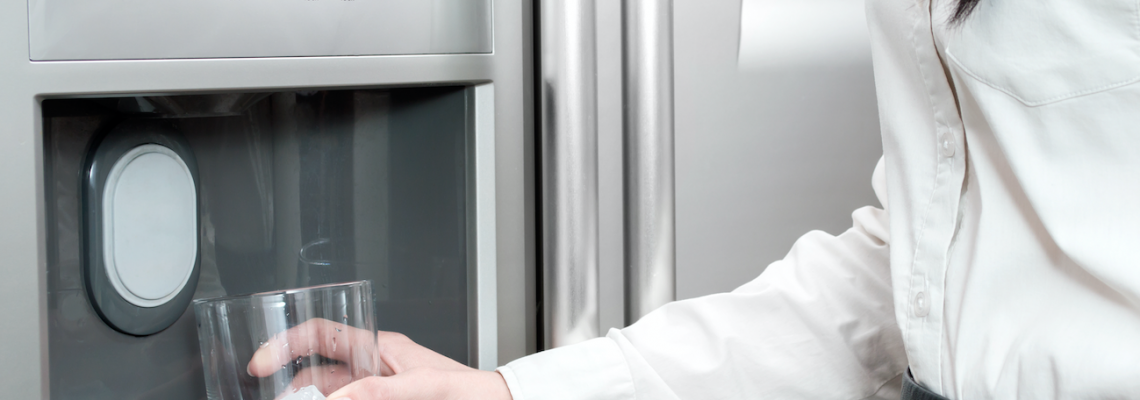 Maintaining your ice maker / water filter in your refrigerator